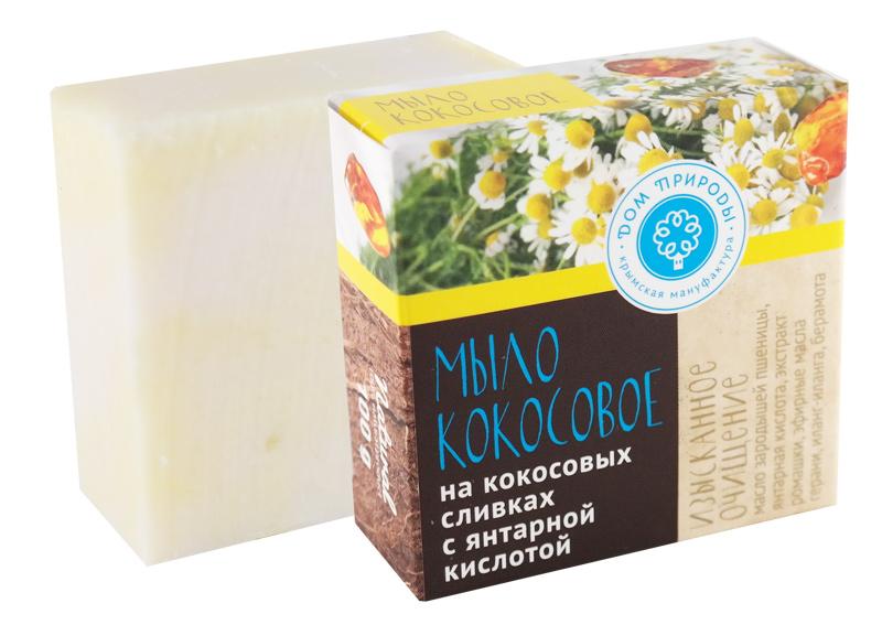 Кокосовое мыло Изысканное очищение 100 гр.