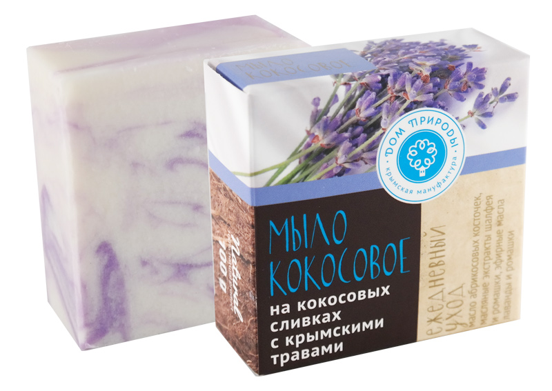 Кокосовое мыло Ежедневный уход 100 гр.