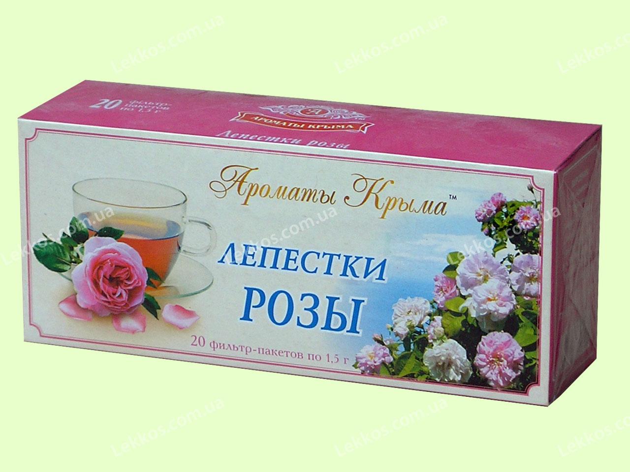 Чай с Лепестками Роз  пакетированный 30 пакетиков