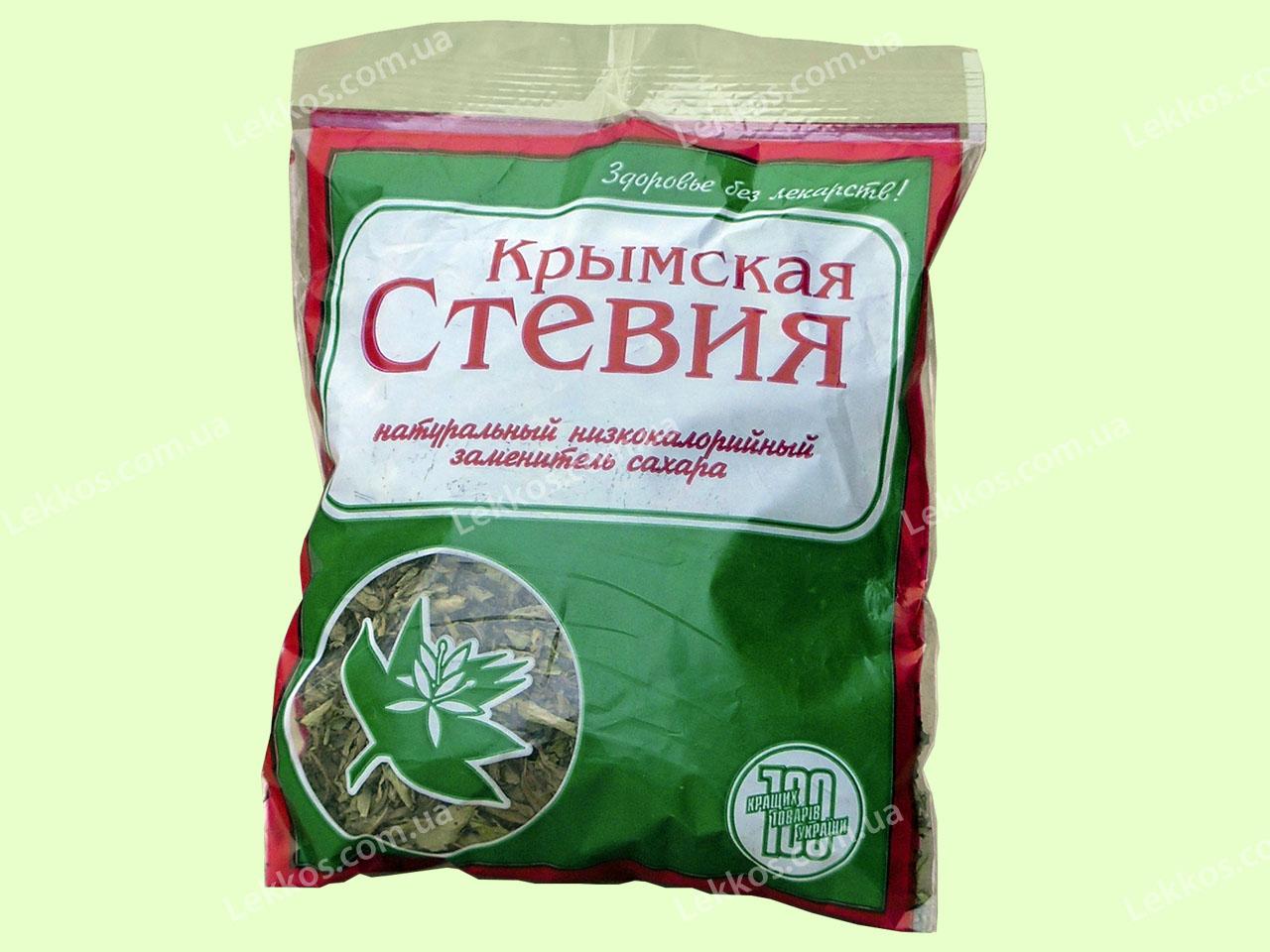 Воздушно сухой лист Стевии 33 грамма