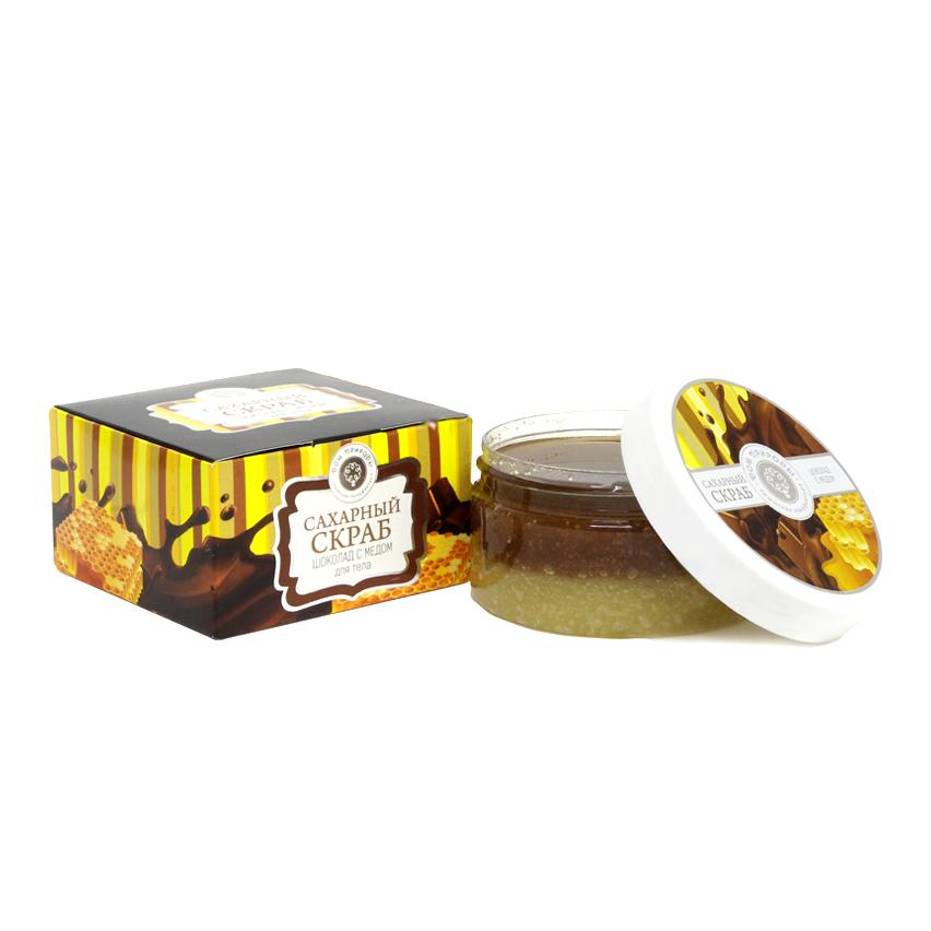 Сахарный Скраб Шоколад с Мёдом 300 гр.