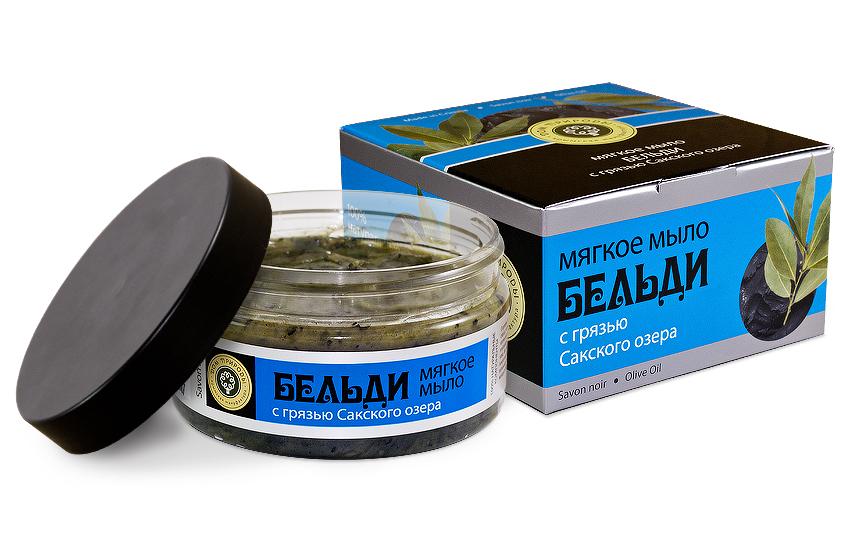 Мыло-скраб бельди с Грязью сакского озера 200 мл.