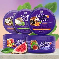 'Натуральные питательные кремы «Cream Mousse»